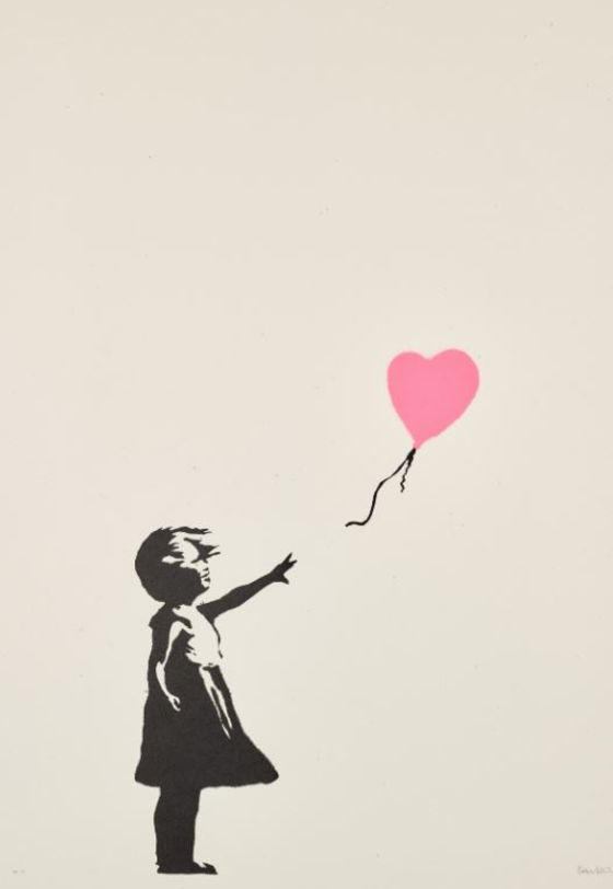 Banksy Balloon Prints Sell Like Hotcakes in Ice-Cold Art Market