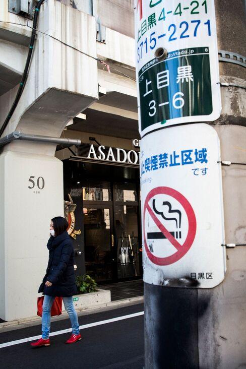 東京都内の路上喫煙禁止区域