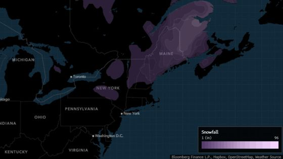 Cold Takes One Last Swipe at New York, Northeast This Weekend