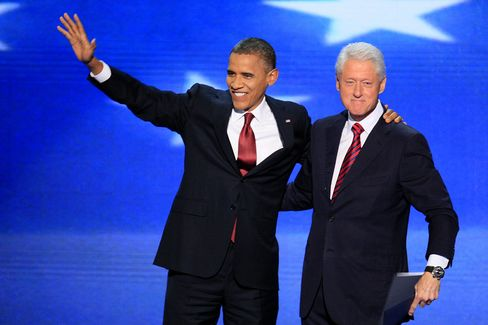 Clinton Nominates Obama for Re-Election at Democratic Convention