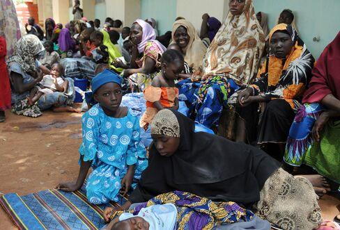 Displaced Nigerian Women And Children