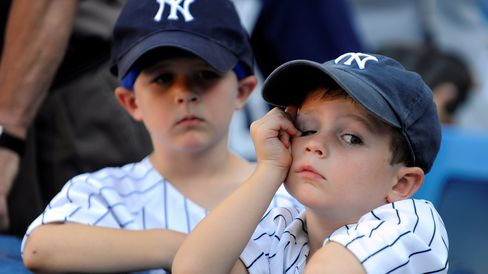 Young Yankees Fans