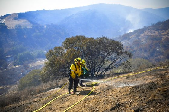 Fierce California Winds Provide No Relief From Fires