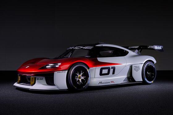 Porsche's Mission R Concept Drops a Big Hint About Its Electric Future