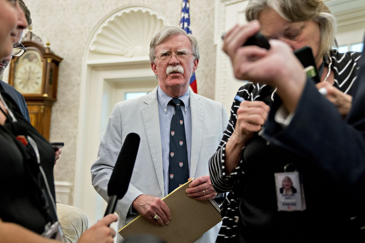 Trump Lawyers Sidestep Bolton Revelations in Making Defense Case