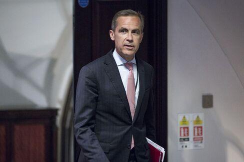 Carney Seen Echoing Fed in Tying BOE Guidance to Data