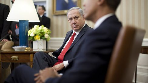 U.S. President Obama With Israeli PM Netanyahu