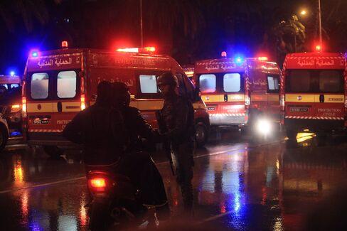 Explosion in Tunisia