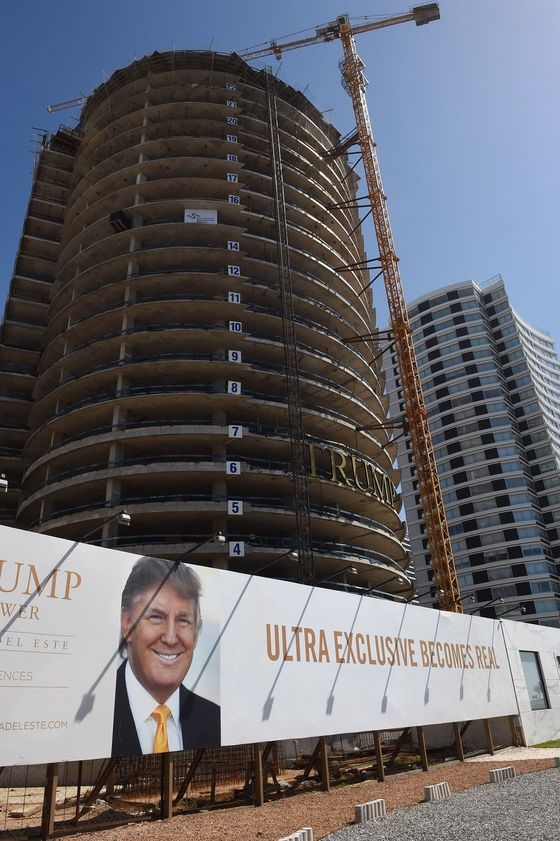 Uruguay Trump Tower Has Issues, Least of Which Is Trump