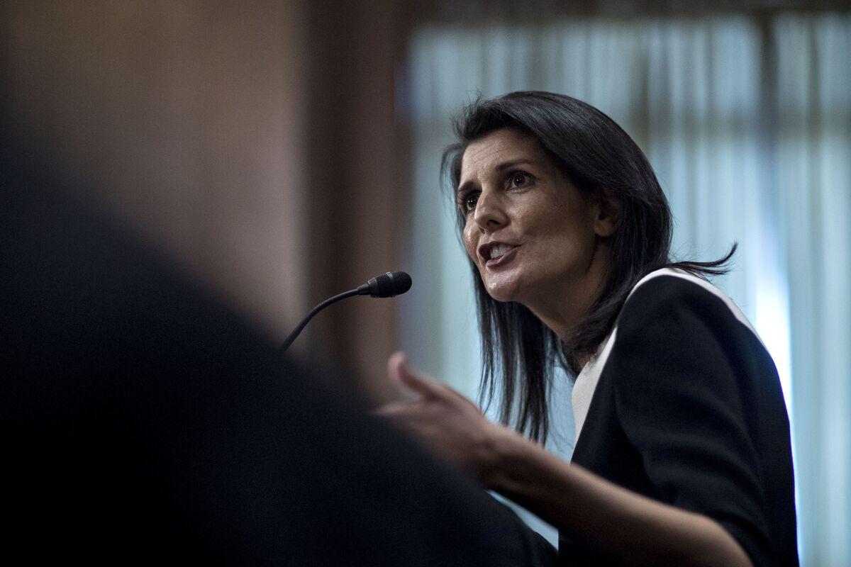 U.S. Ambassador Haley Loses Two Key Aides at United Nations