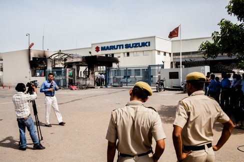 Maruti Suzuki India Ltd's Riot Aftermath