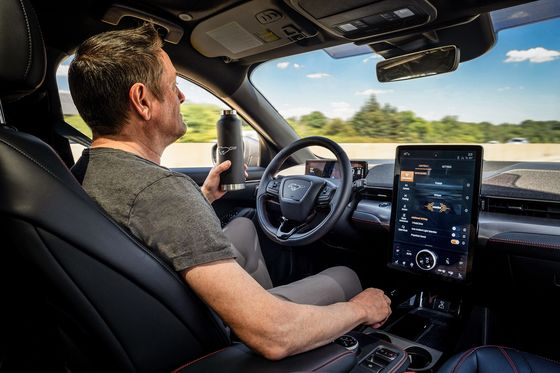 Ford Sees Hands-Free Driving Feature Selling 100,000 First Year