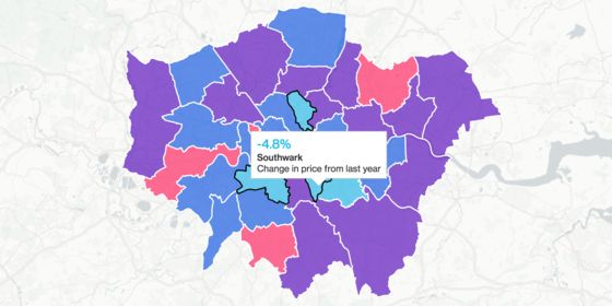 London House Prices Post Biggest Drop Since 2009 in July