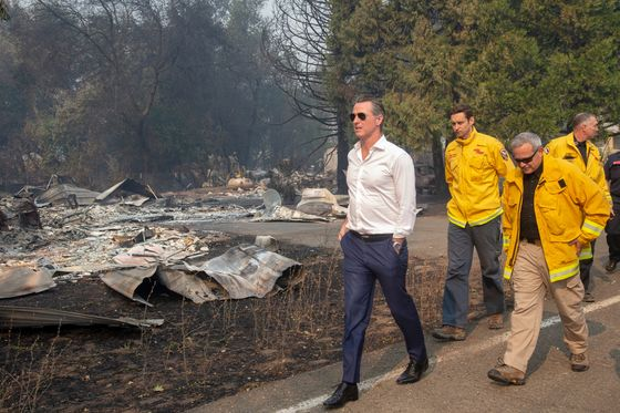 California's Newsom Draws Tepid Approval on Fires, Blackouts