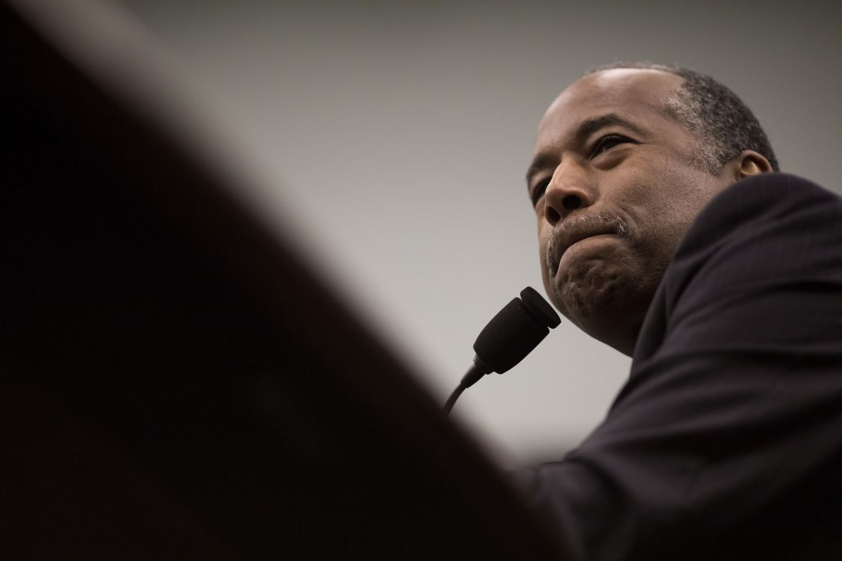 Ben Carson Denies Trying to Mislead Public About $31000 Dining Set