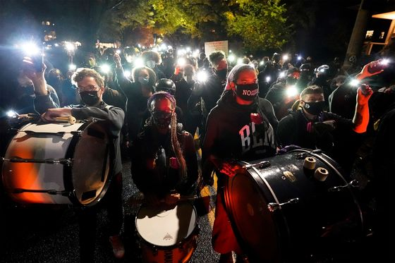 U.S. Cities Confront Unrest That Election Night Spared Them