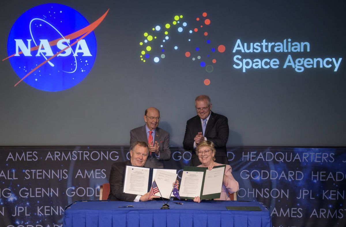 Australia Will Join U.S. for 2024 Moon Mission, Mars Exploration