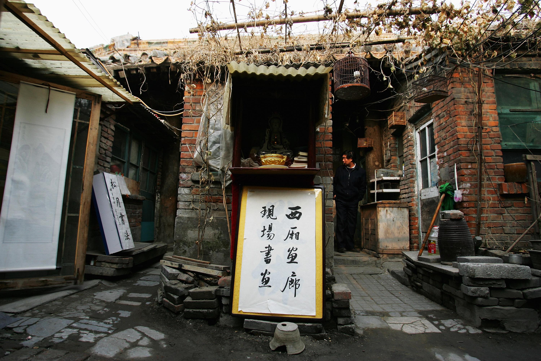"""Traditional """"Hutong"""" Alleyways Vanishing In Beijing"""