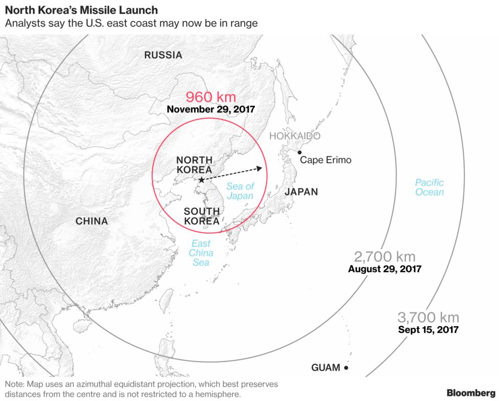 Airlines That Saw North Korean Missile Say They'll Stick to