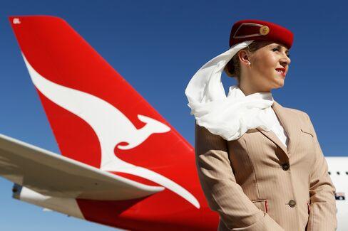 Emirates Pulls Qantas Back From Brink of Junk