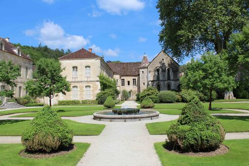 The grounds of the Abbey of Fontenay, where a self-guided audio tour is well worth an hour's visit.