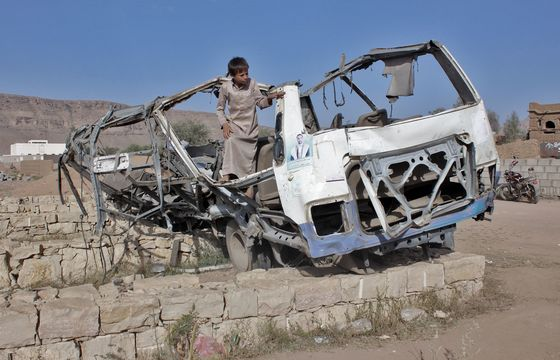 Trump Says Saudis Misused U.S. Weapons in 'Terrible'Yemen War