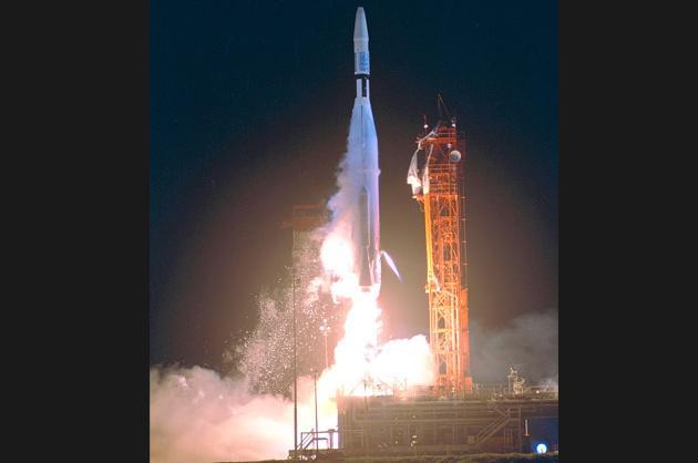 Mariner 1 misfire (1962)