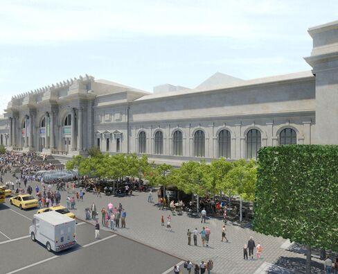 Koch Pledges $60 Million to Upgrade Met's Plaza in New York
