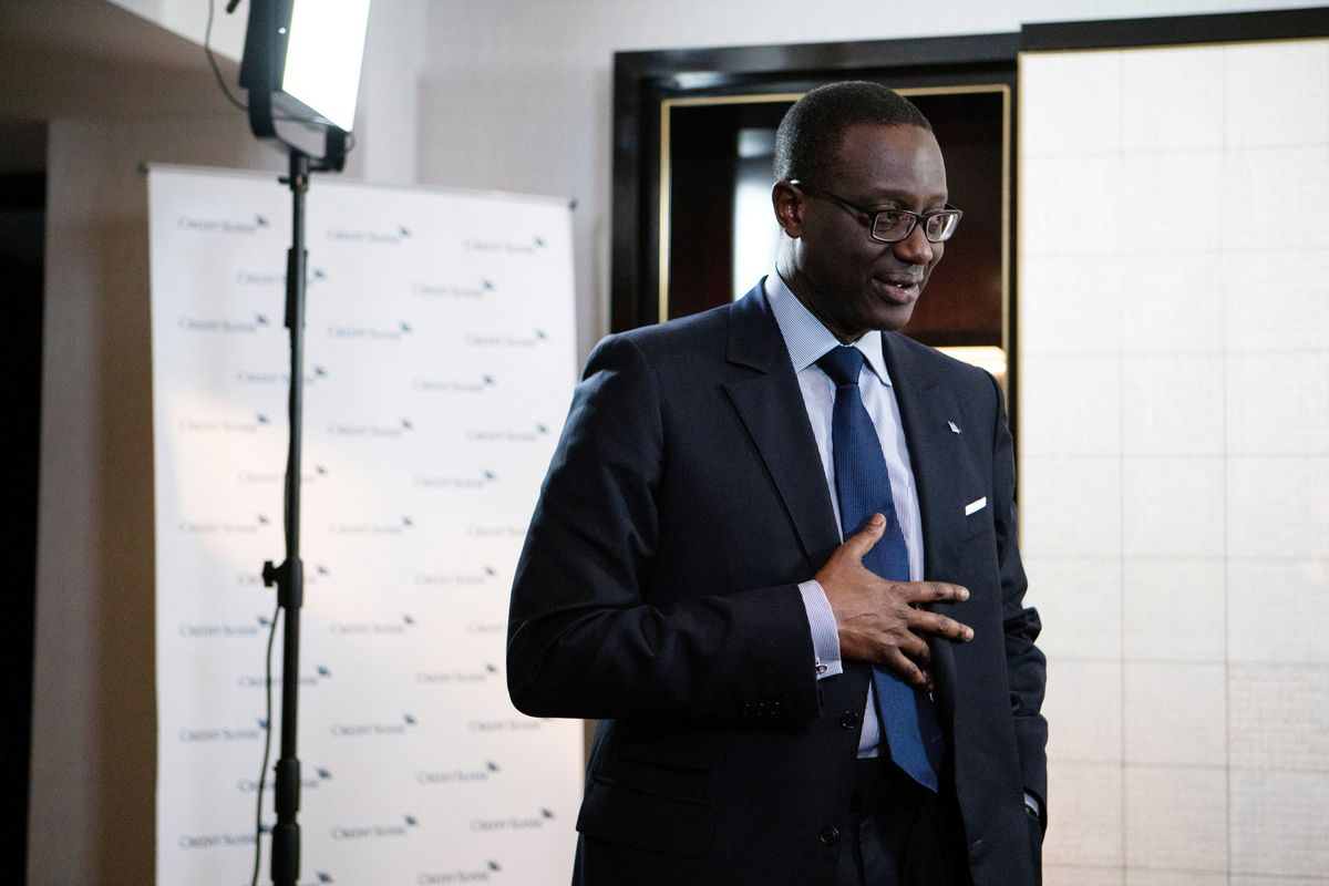 Credit Suisse CEO Seeks to Stem Defections After Khan Exit