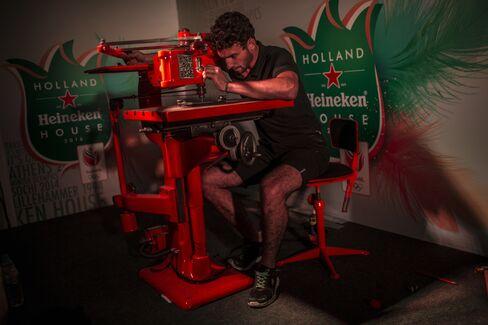 Heineken Converts Rundown Clube Monte Líbano Into Olympic-Themed Beach Club