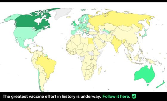 World's Most Vaccinated Nation Struggles With Virus Variants