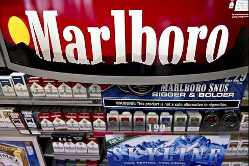 Packs of Altria Group Inc. Marlboro Cigarettes