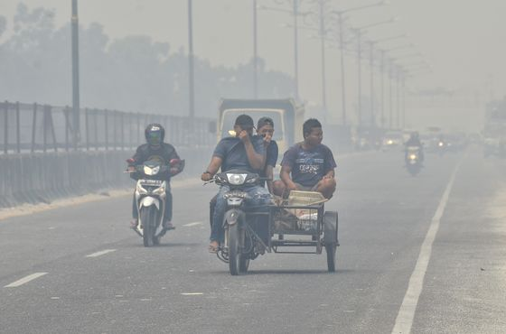 Air Quality in Singapore, Kuala Lumpur and Jakarta Worst in the World