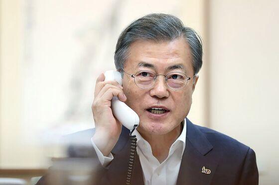 Moon to Meet Trump in Bid to Revive North Korea Nuclear Talks