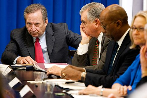 The Lucky Break That Could Land Larry Summers at the Fed