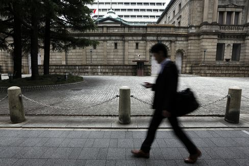 Japan Institutions Cut Shares to Record Low During First Quarter