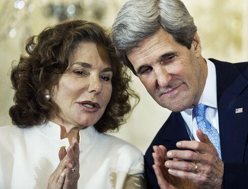 Teresa Heinz Kerry & U.S. Secretary of State John Kerry