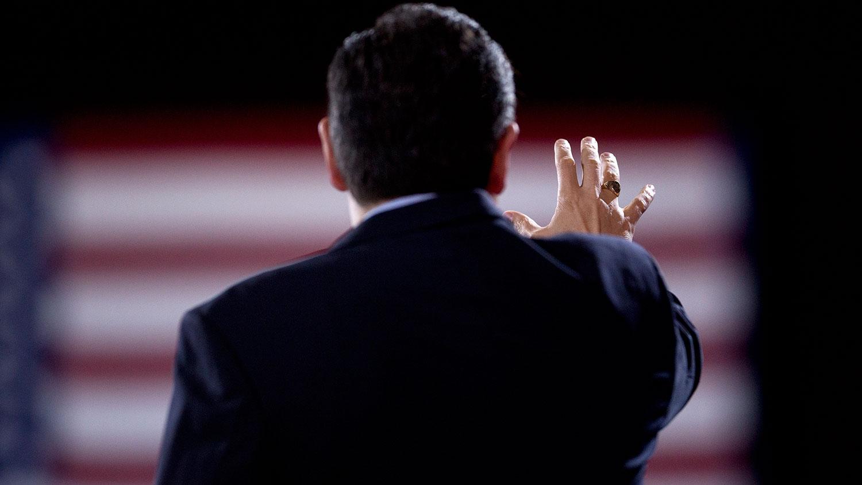 Cruz speaks
