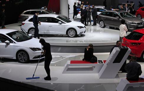 VW's Seat Automobiles