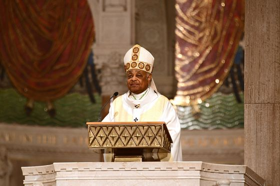 Pope Names Catholic Church's First Black Cardinal in U.S.