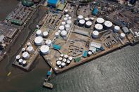GS Caltex Incheon Oil Tanks As Korea Runs Out of Space For Oil Storage