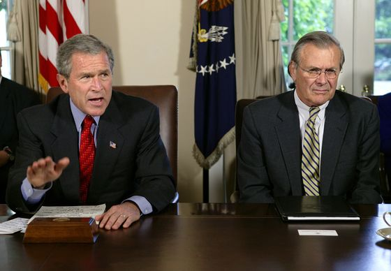 Donald Rumsfeld, Pentagon Chief in Mideast Wars, Dies at 88