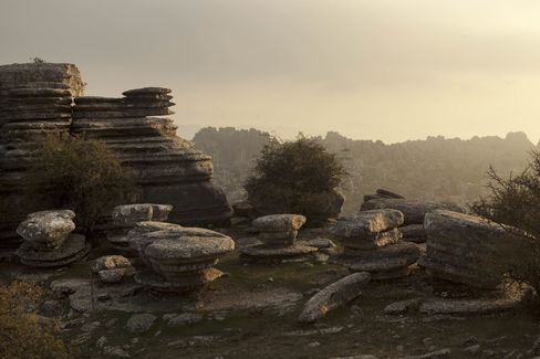 The Antequera Dolmens site in Andalucia, Spain