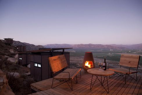 Encuentro Guadalupe, a sustainable (but incredibly stylish) resort in Valle de Guadalupe.
