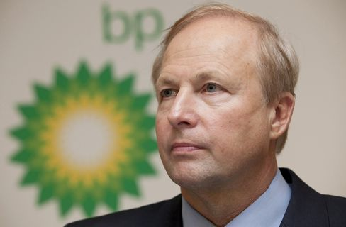 BP CEO Robert Dudley