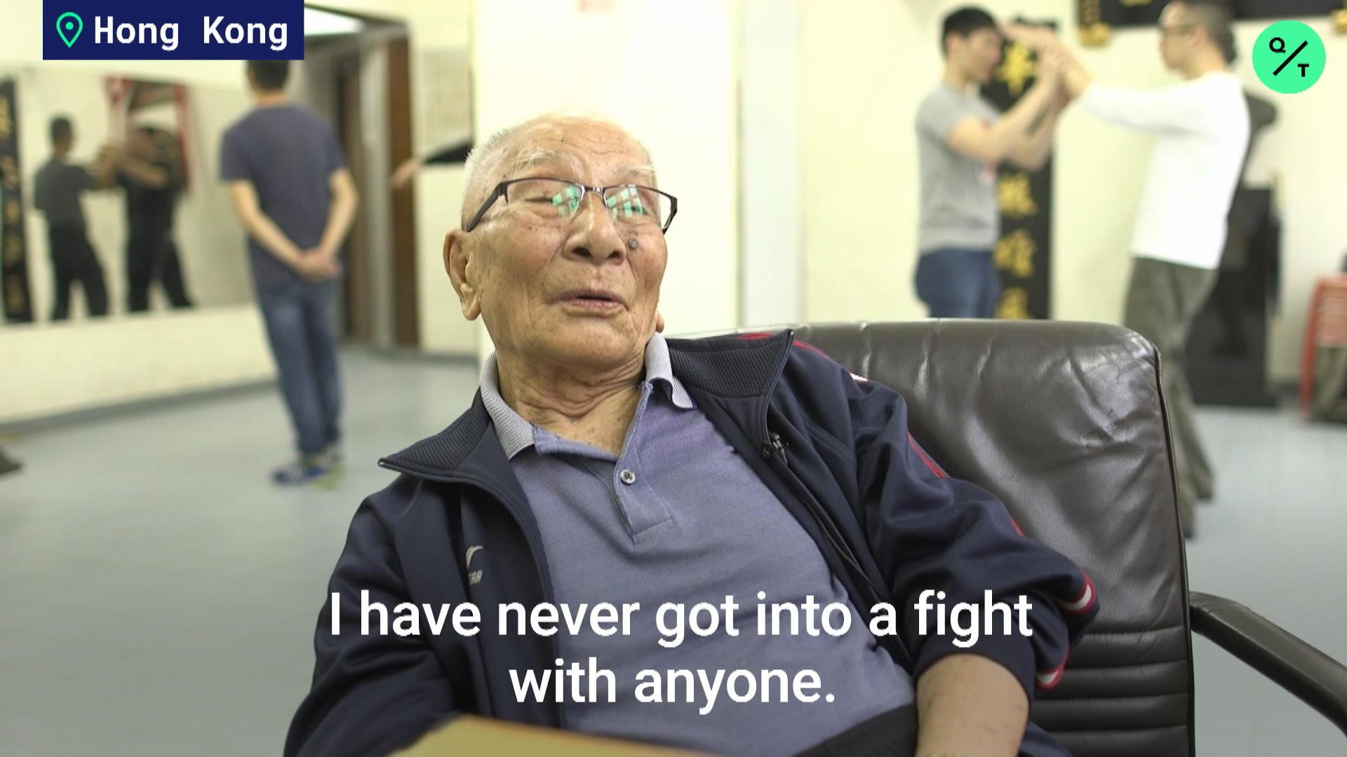 The 96-Year-Old Wing Chun Master