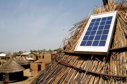 Selling Solar Panels on the Installment Plan in Africa