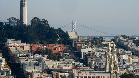 San Francisco will be the least affordable housing market in the U.S. this year, with 72 percent of median income needed to pay a 30-year, fixed-rate mortgage, according to a forecast by realtor.com.