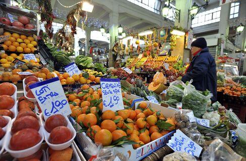 Euro-Area Consumer Prices Rise More Than Estimated