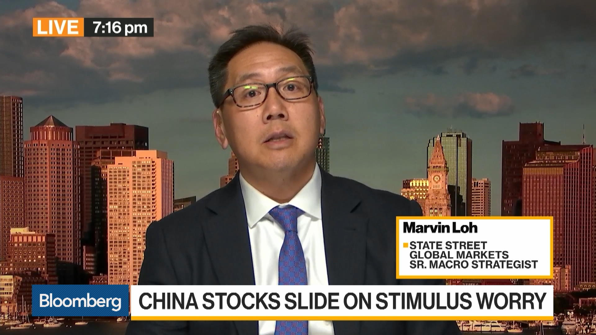 We're Looking for Stability Coming Out of China, Says State Street's Loh